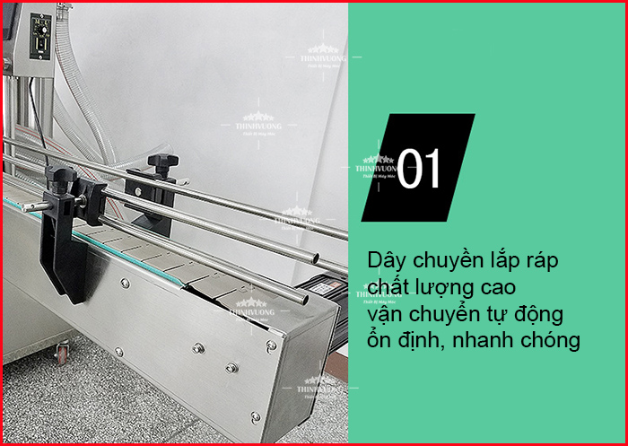 may chiet rot dinh luong tu dong 6 dau chiet long 9