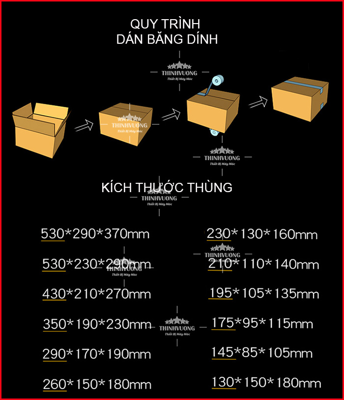 may dan bang dinh thung ccarrton dqfxa6050 12