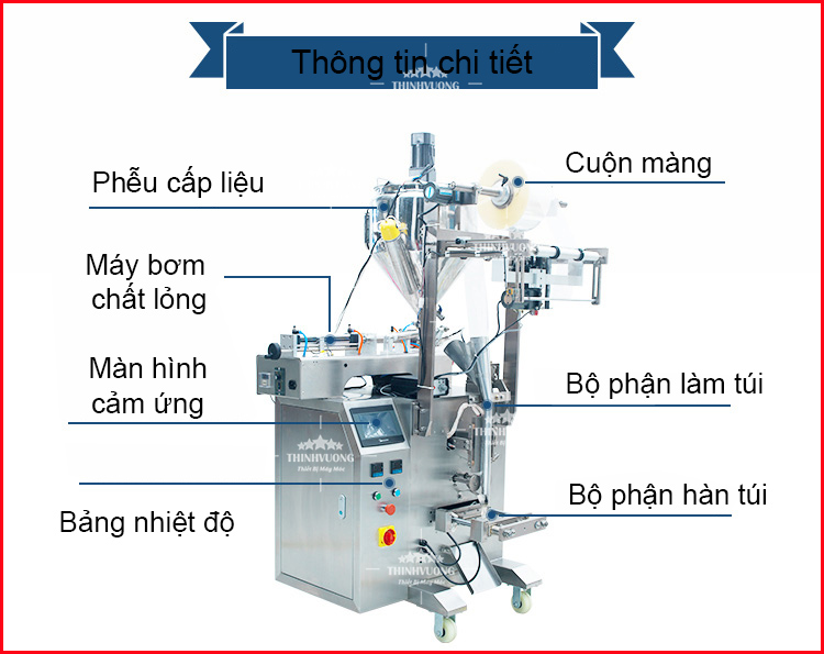 may dong goi chat long 10 500ml zv320 4